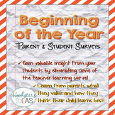 Beginning of the Year Student and Parent Surveys
