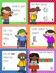 Beginning of the Year Task Cards Scoot Activity First Grade