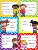 Beginning of the Year Task Cards Scoot Activity Fourth Grade