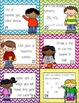 Beginning of the Year Task Cards Scoot Activity Second Grade