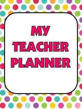 Beginning-of-the-Year Teacher Organizational Resources Bundle (Editable!)