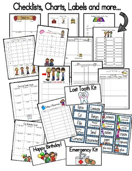 Beginning of the Year Teacher Tool Kit