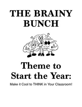 Back to School Theme: The Brainy Bunch!