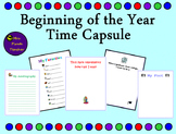 Beginning of the Year Time Capsule
