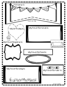 Back to School Time Capsule for 1st & 2nd Grade