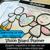 Beginning of the Year Vision Board For Teachers