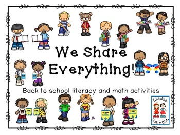 Beginning of the Year - We Share Everything