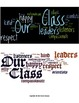 Beginning of the Year Wordle Display for Bulletin Board
