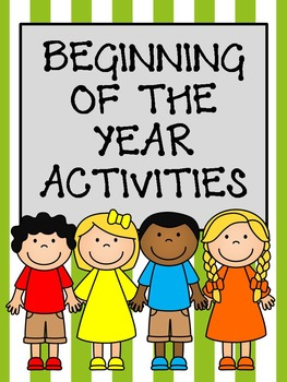 Beginning of the Year Activity