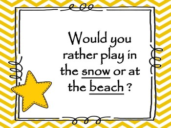 """AVID - Collaboration  """"Would you Rather"""" Game"""