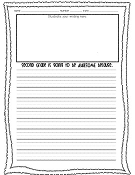 Beginning of the Year Writing--Is Going to be Awesome FREEBIE!
