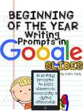 Community Building Writing Prompts: GOOGLE DRIVE