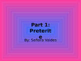 Beginning of the preterit unit PowerPoint