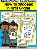 Back to School - Character Education - 1st Grade