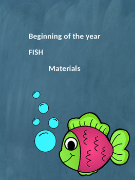 Beginning of the year FISH materials
