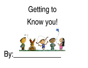 Beginning of the year: Getting to know you