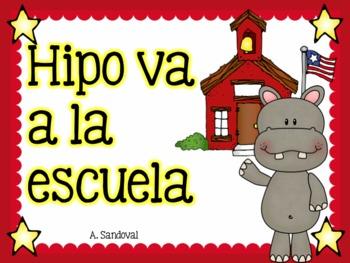 Beginning of the year- Hipo va a la escuela