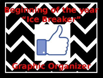 "Beginning of the year ""Ice Breaker"" activity"