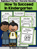 Back to School - Character Education - Kindergarten