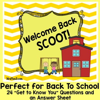 Beginning of the year SCOOT!