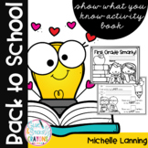 First Grade Smarty - A Back to School Activity