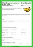 Beginning of the year math assessment 2nd grade