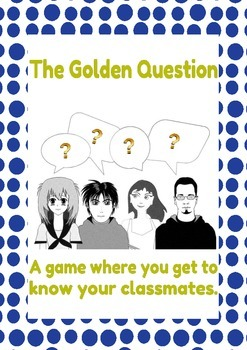 Back to school activities question game