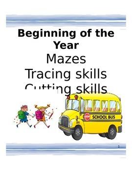 Beginning of the year skills