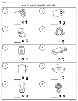 Beginning or End Clip It Task Cards and Worksheets