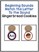 Beginning or Initial Sound Cards Matching to Letter Cards or Mats