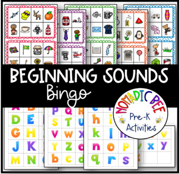 Letter Sounds Bingo