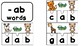 Short A CVC puzzles, using beginning sound pictures