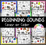 Letter Sound Cover or Color