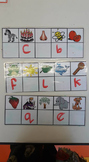 Beginning sound reusable cards - reading centres