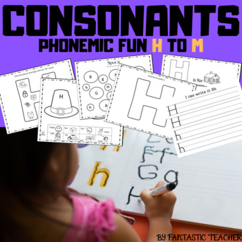 Beginning sounds - ABC Phonemic Fun ( consonants from H to M)