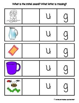 Beginning sounds- CVC words