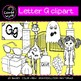 Beginning sounds - Letter G clipart