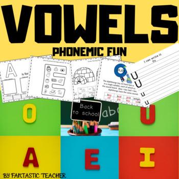 Beginning sounds - Phonemic Fun- Vowels