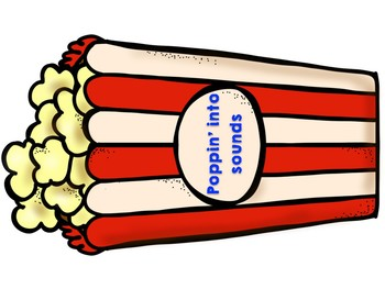 Beginning sounds Popcorn game Poppin' into beginning sounds