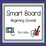 A-Z Beginning Sounds Games and Activities for Smart Board