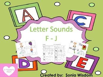 Beginning sounds F - J