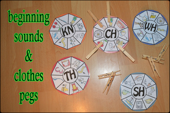 Beginning sounds of nouns