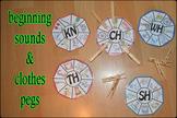 Beginning sounds of nouns