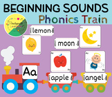 Beginning sounds phonics train