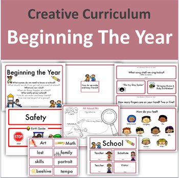 Creative Curriculum Worksheets Teaching Resources TpT