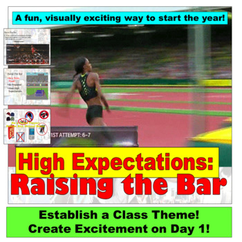 Beginning the Year:  Raising the Bar