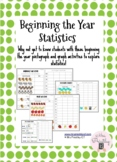 Beginning the Year Statistics