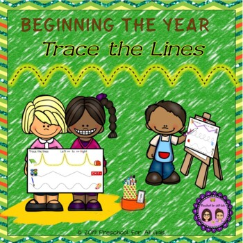 Beginning the Year Trace the Lines