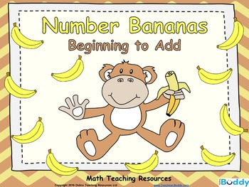 Beginning to Add – Number Bananas