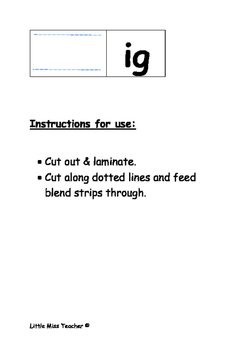 Beginning to Blend Activity Pack